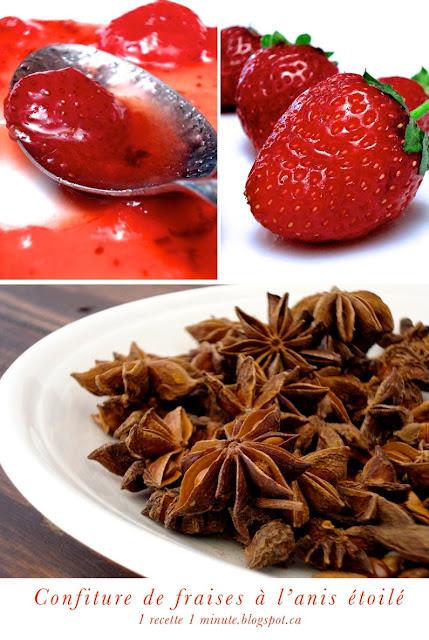 Confiture de fraises l 39 anis toil badiane blogs de - Etoile de badiane cuisine ...