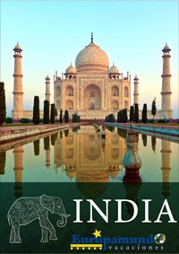 Folleto de viajes a la india