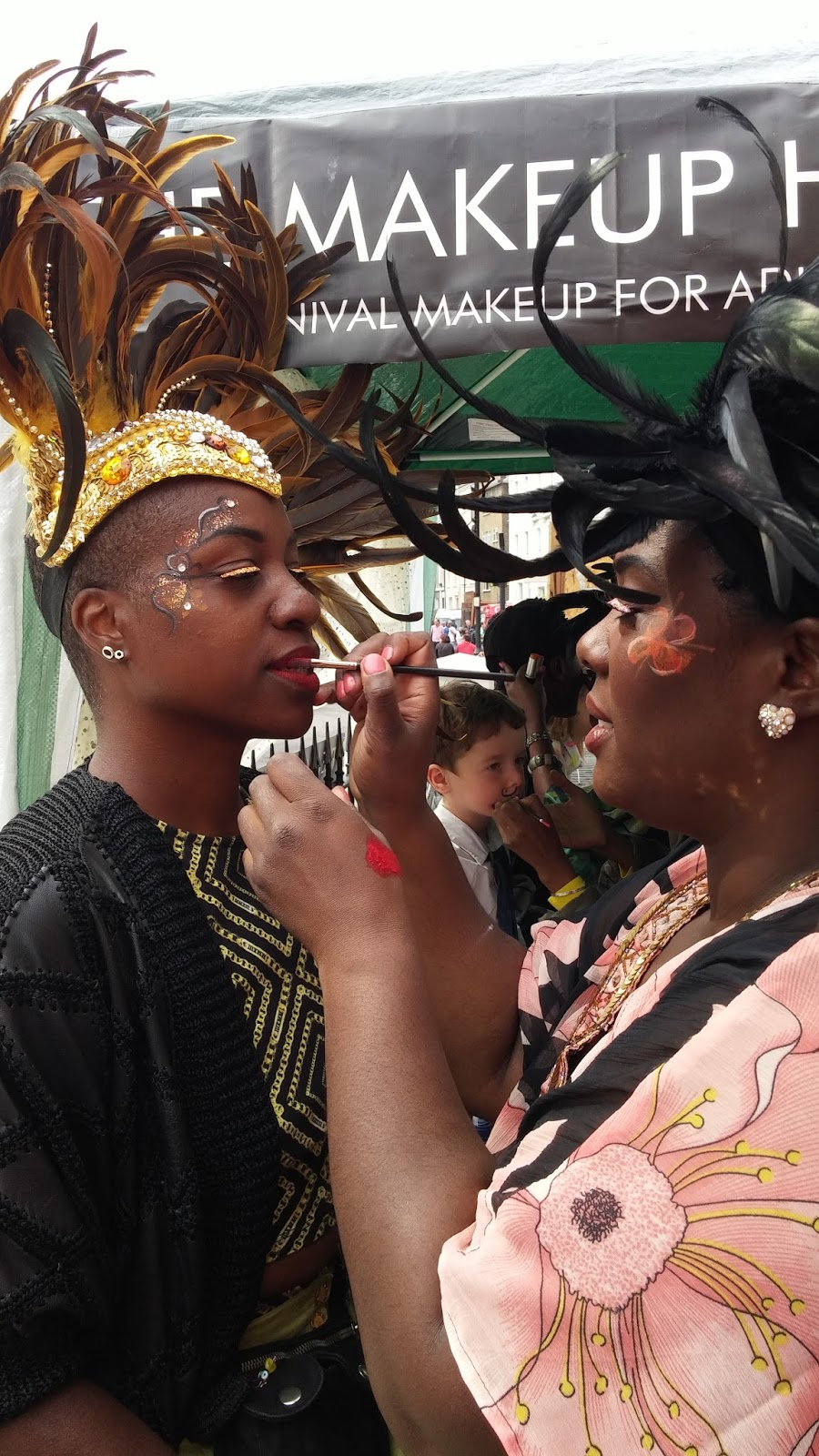 Notting Hill Carnival makeup