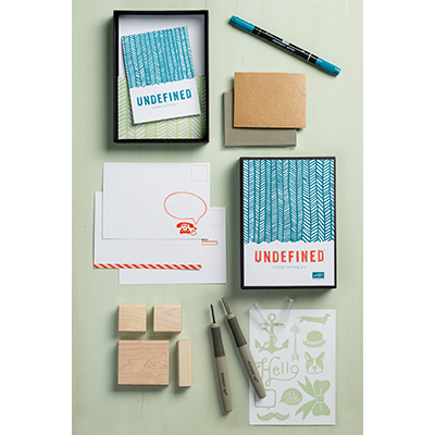 Stampin' Up! rubber stamp carving kit
