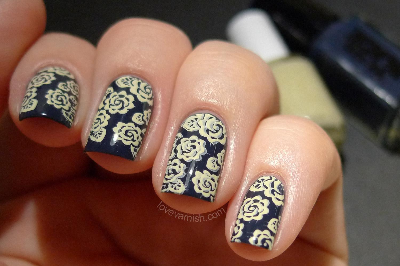 Mundo de Uñas Papyrus Emily de Molly EDM05 stamping nail art