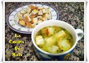 Sopa de Cebolla C/Picatostes