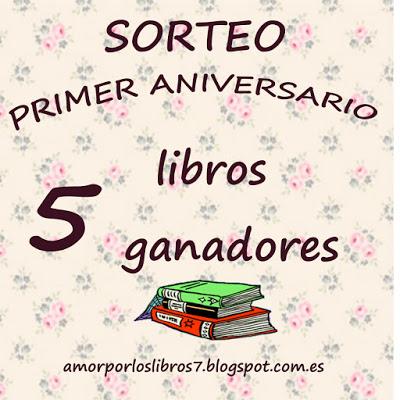 Sorteo en Amor por los libros