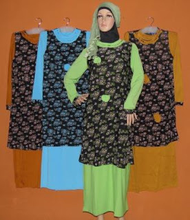 Gamis Rompi Panjang Gkm4554 Diskon Grosir Baju Muslim
