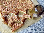 Prajitura rapida cu nuca (Semiluna) preparare reteta
