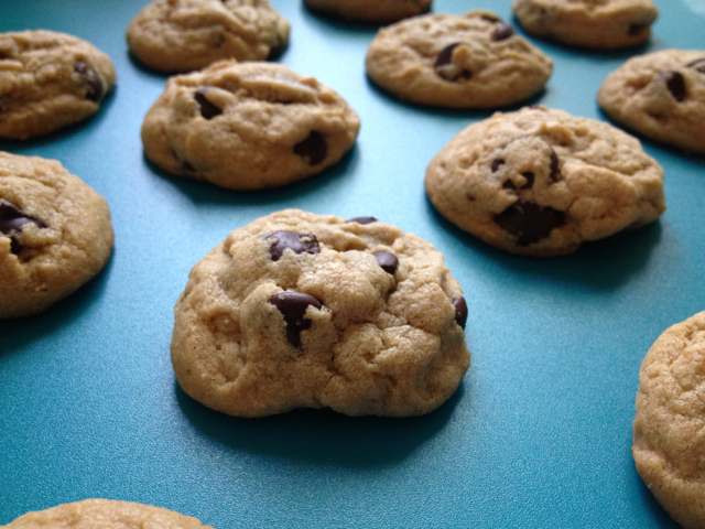 The Nerdy Chef: Peanut Butter Chocolate Chip Cookies