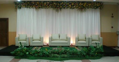 contoh gambar dekorasi pernikahan minimalis | album wedding
