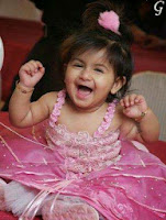 Babies Pictures With Pink Frock & Cute Smile Baby Images