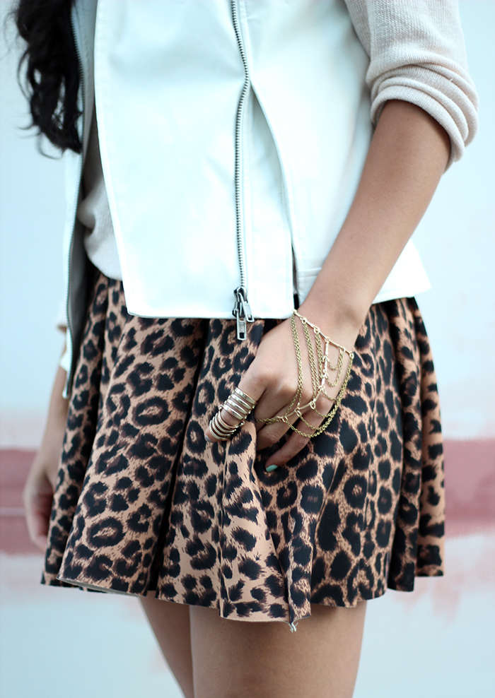 wearing Urban Outfitters hand chain and H&M ring