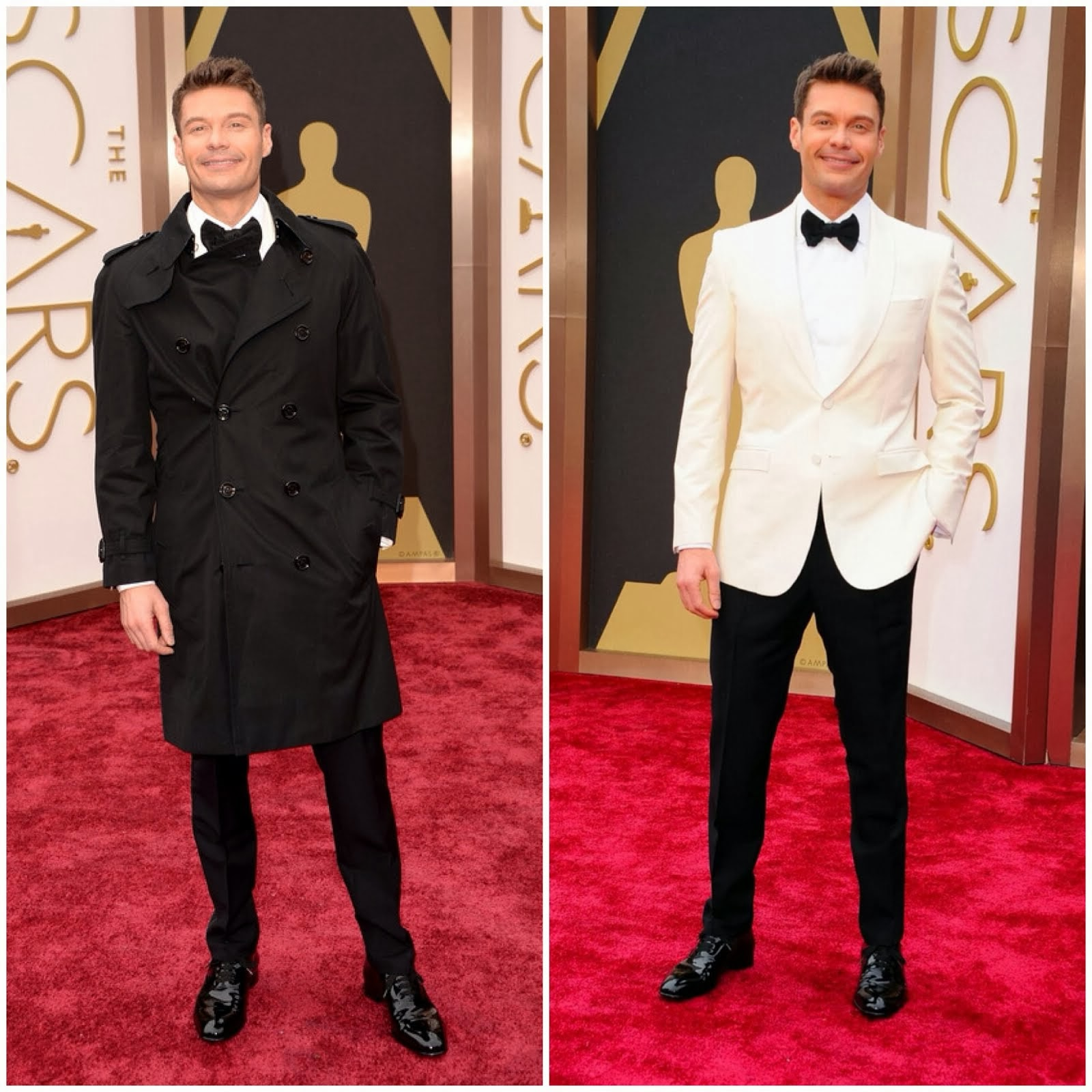 Ryan Seacrest in Burberry - 86th Annual Academy Awards