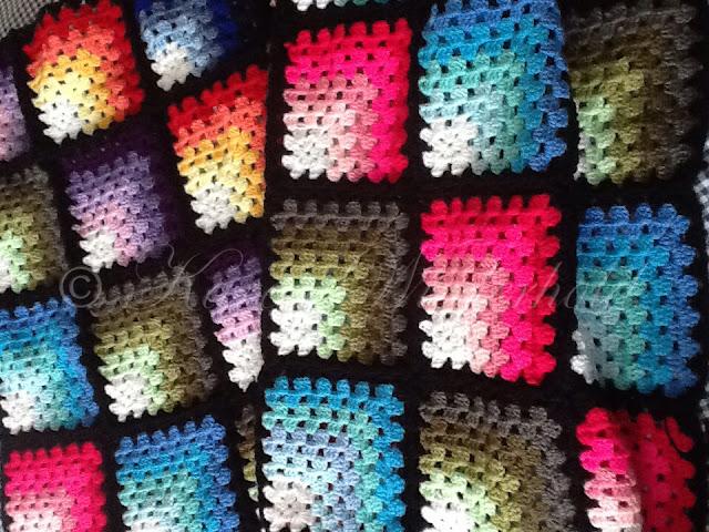 ... Granny Square Blanket - Free Crochet Pattern - Copyright 2013-2015