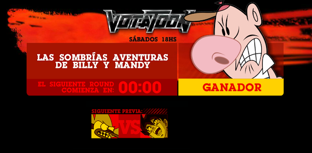 Votatoon - Billy y Mandy