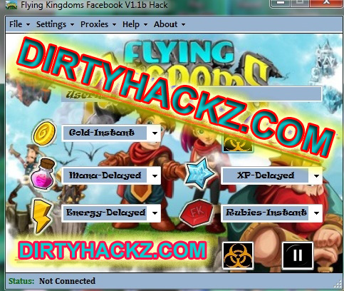 Flying Kingdoms V1.1b Hack Download