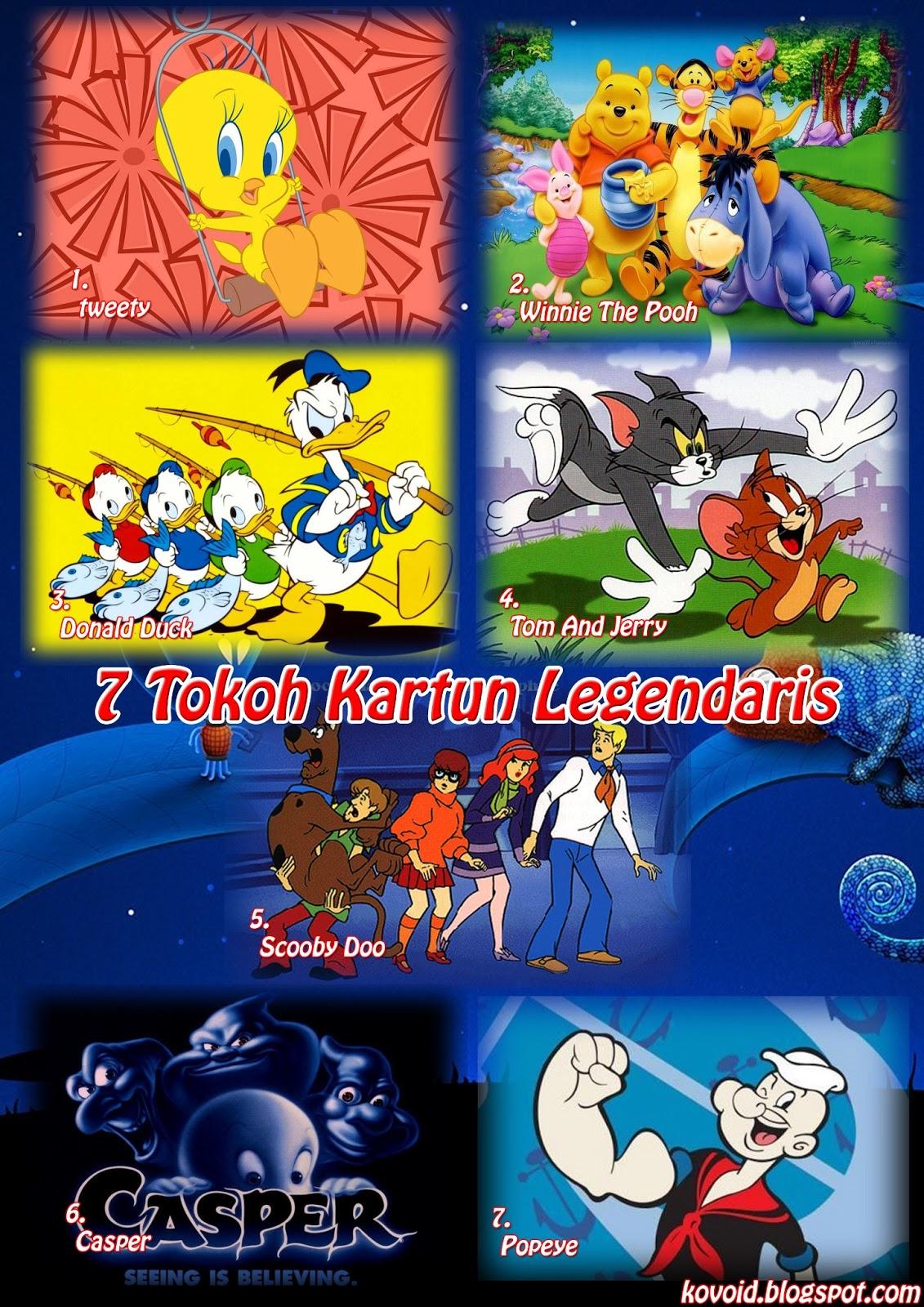 Tokoh Kartun Legendaris | Kovoid