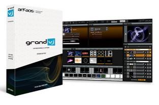 GrandVj aplikasi untuk video clip live