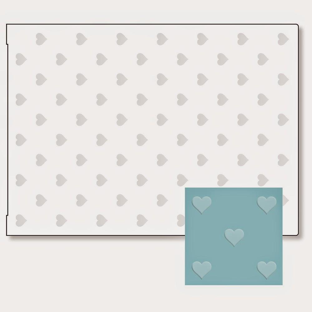 Heart Embossing Folder