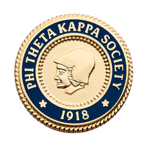image of PTK pin. established 1918