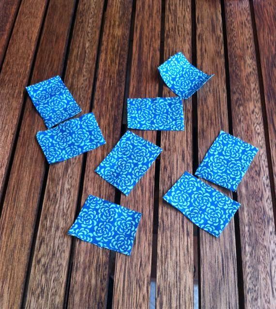 Chaveiro de tecido | retalhos de tecido