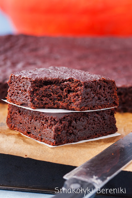 brownie z nutą cynamonu