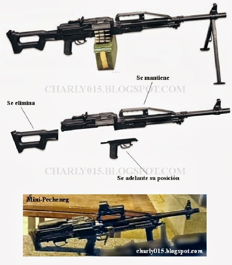 Nuevo fusil anfibio ruso PECHENEG+MINI+2