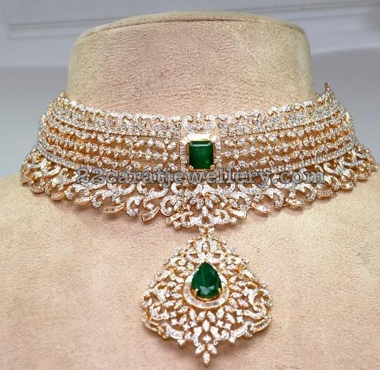 indian choker jewellery designs