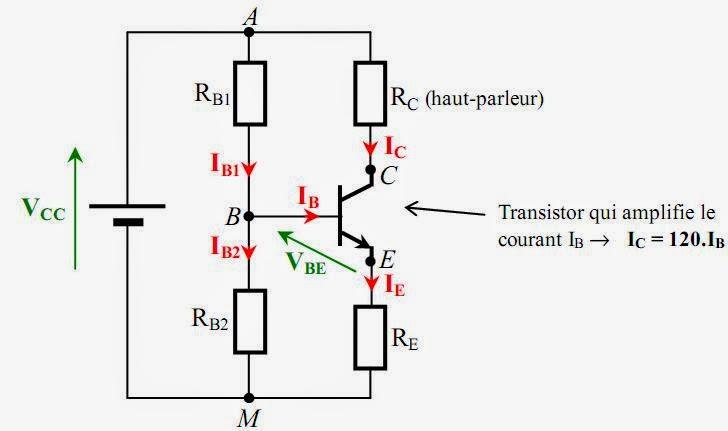 exercice corrig u00e9 sur loi d u0026 39 ohm r u00e9sistances dans un amplificateur de puissance