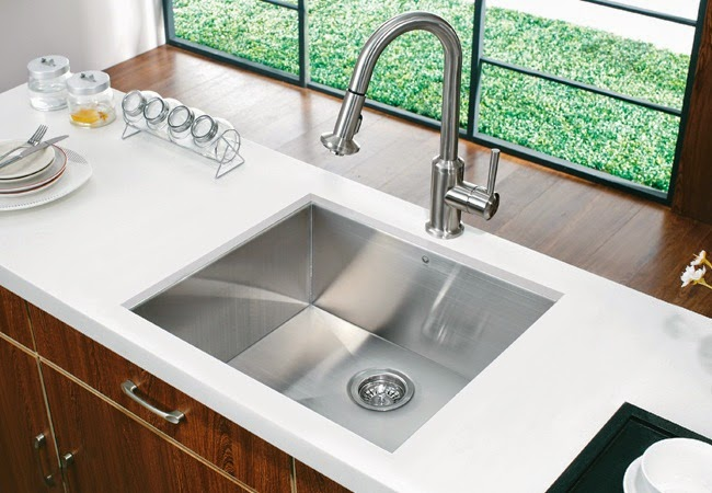 Charmant Hard Water Stains Can Develop In Your Kitchen Sink If Daily Care And  Maintenance Is Not Done. The Longer We Allow The Stain To Set In The Harder  It Will Be ...