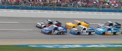 Brian Keselowski (@KeselowskiBrian) in the Lead - #NASCAR.