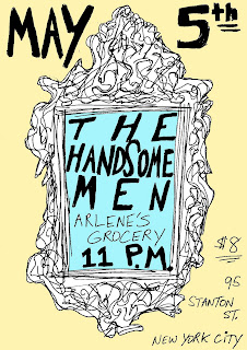 The Handsome Men Make Their NYC Debut at Arlene's Grocery on May 5th