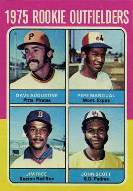 Dave Augustine 1975 baseball card