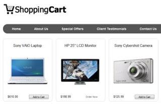 Memasang Shopping Cart untuk Blog Toko Online