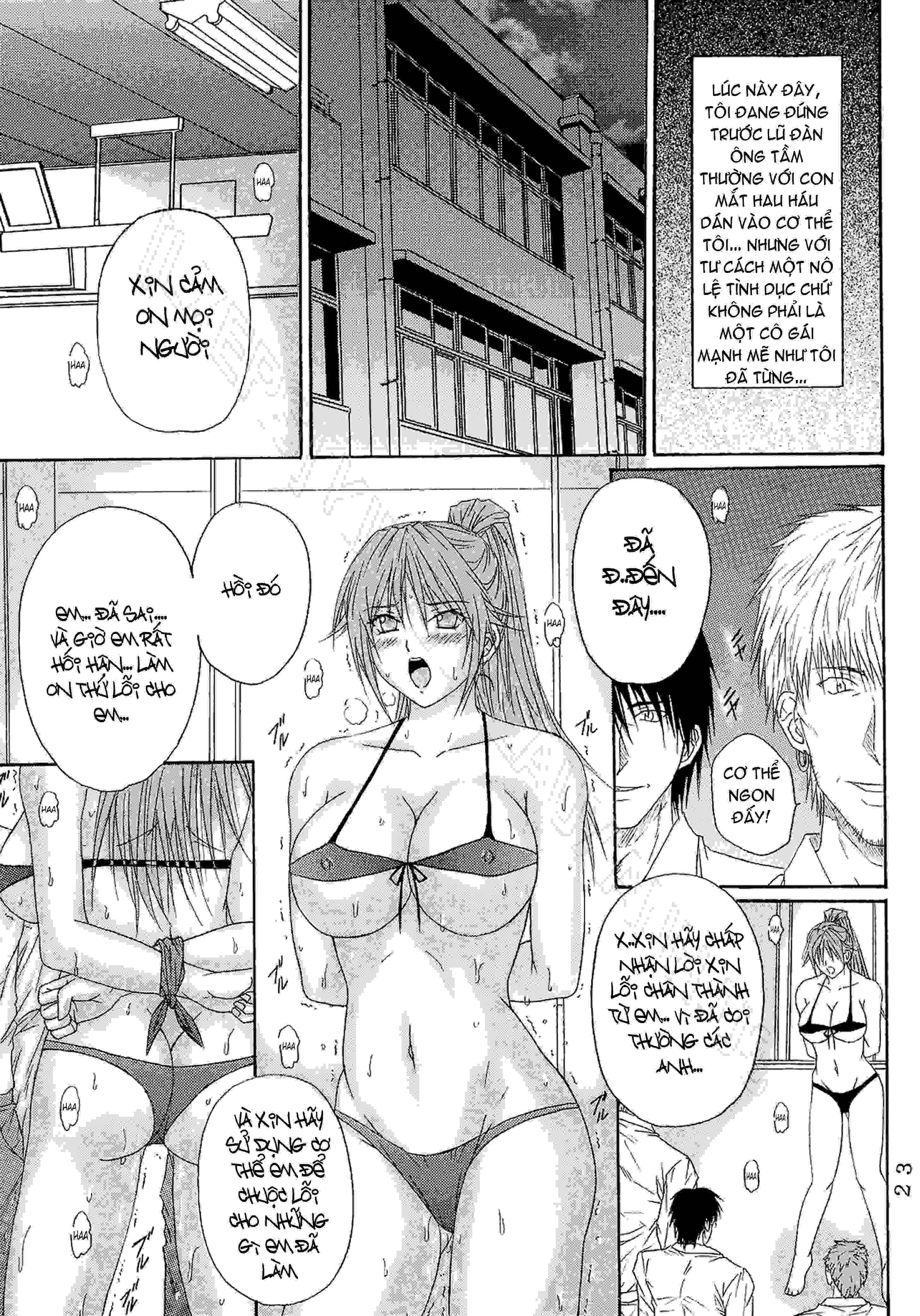 TruyenHay.Com - Ảnh 22 - Ryoujoku Rensa Chapter 6