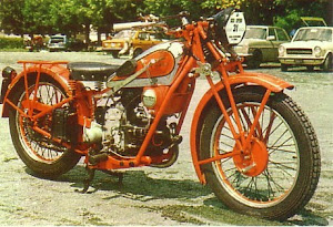 Moto Guzzi Sport 15 de 1930 monocylindre de 500 cm3