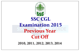 SSC CGL Previous year Cut off for Tier I and Tier II