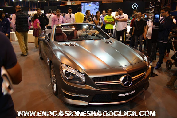 mercedes sl amg salon del automovil de madrid 2014