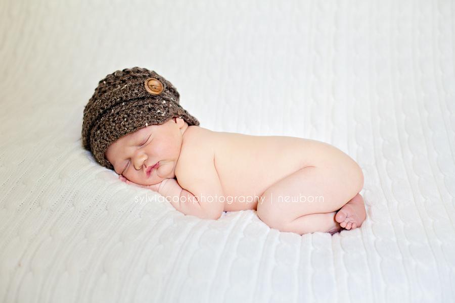 Aiden 4 days old- Bellevue newborn photographer