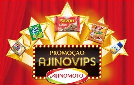 Promoção Ajinomoto 2015 Ajinovips