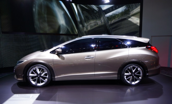 Honda Civic Touring side view