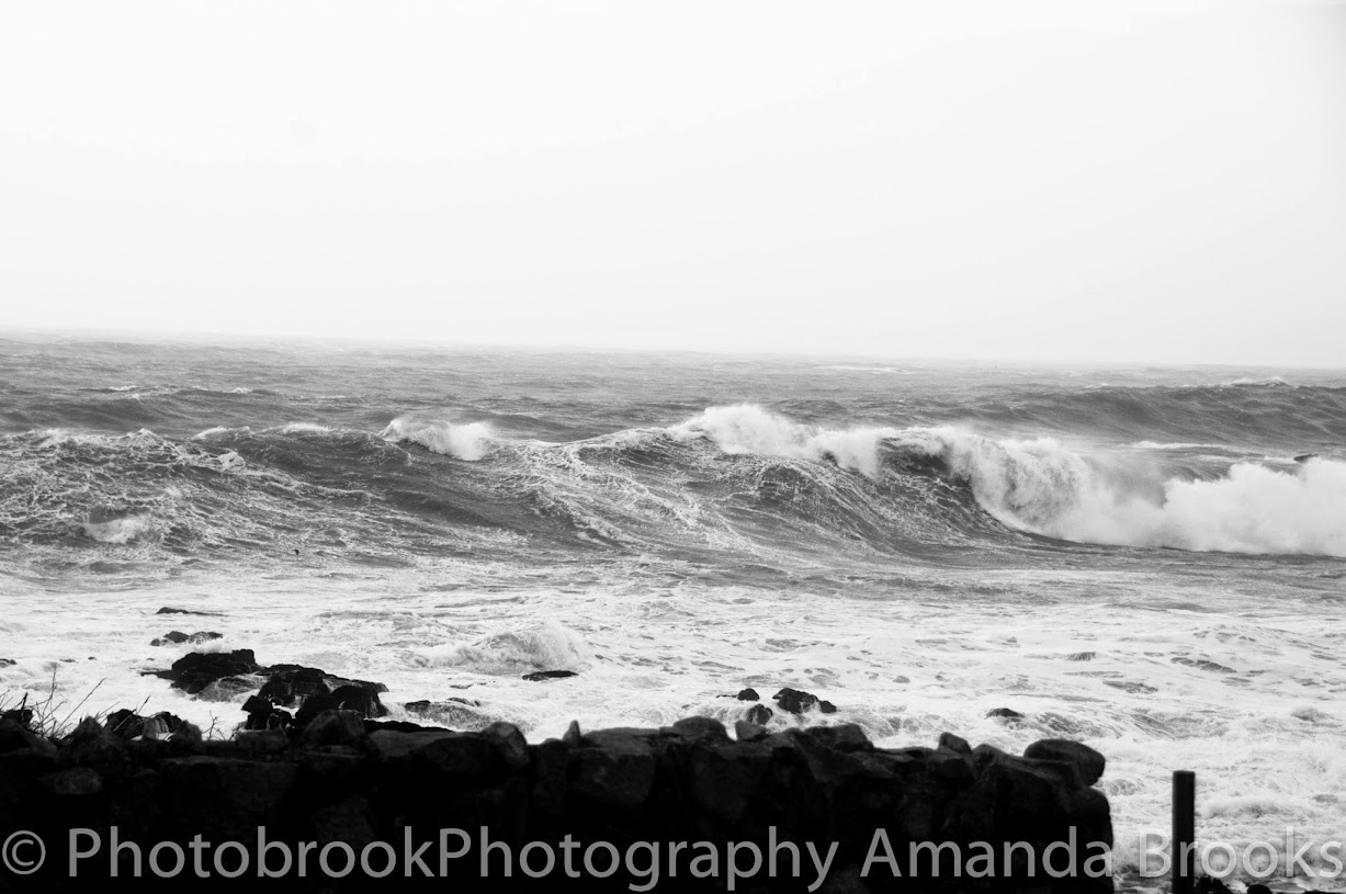 Winter Storm Hercules photographs from Sennen with 30ft waves