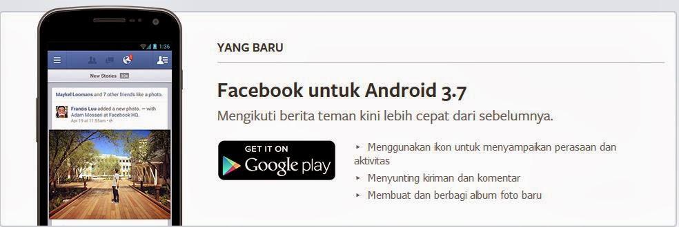 Download Aplikasi Facebook Untuk HP Android Terbaru 2014