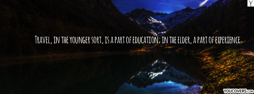 Facebook Cover Travel Quotes For Timeline Best Fb With Inspirational