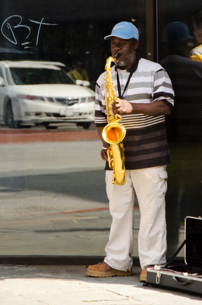 King Street Musician