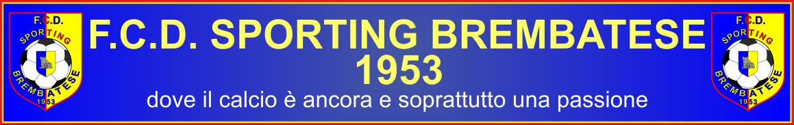 F.C.D. SPORTING  BREMBATESE 1953
