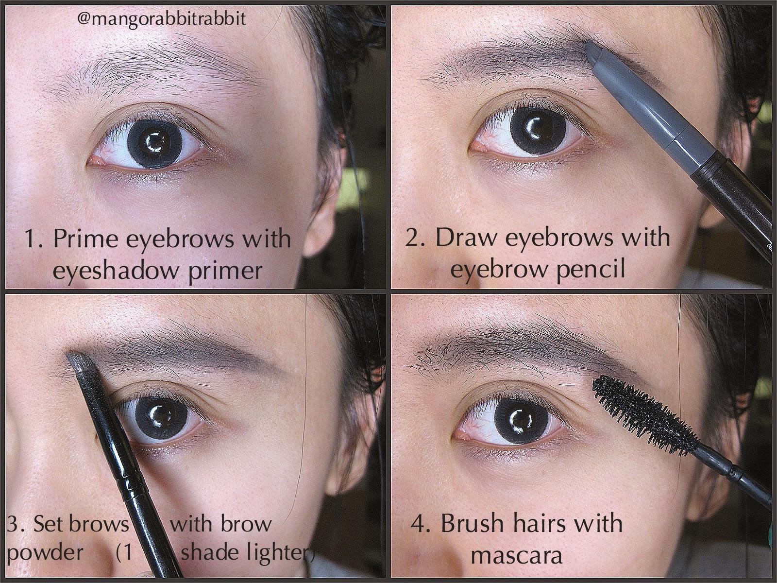 perfect eyebrows long lasting 24 hours kerina mango
