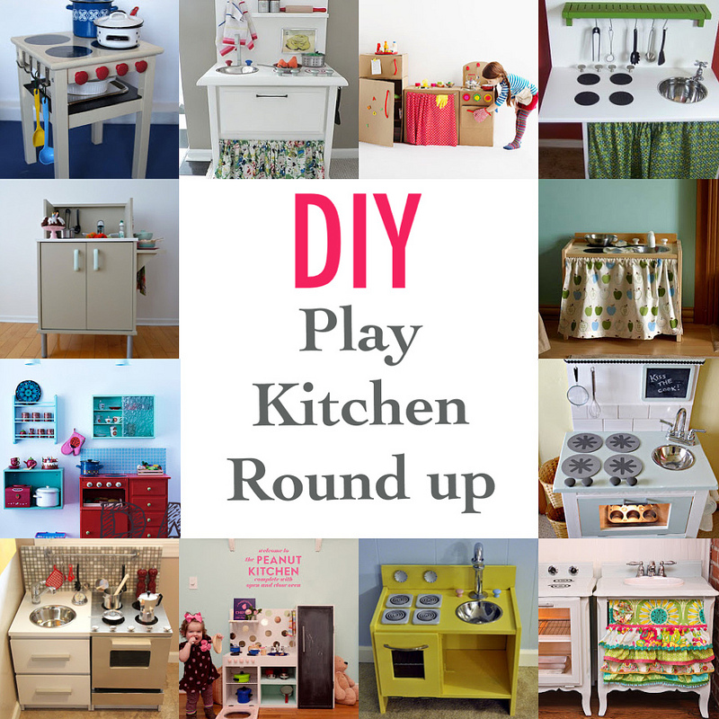House of paint diy play kitchens for Diy play kitchen ideas
