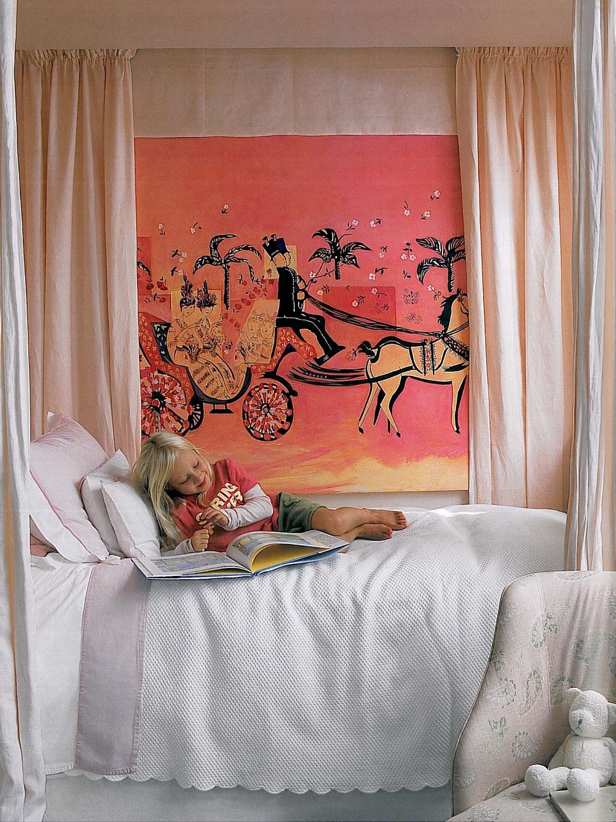 Inspire me big girl room for Elle decor beds