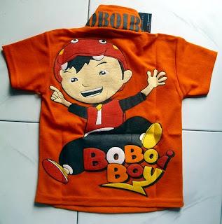 Kaos krah Bobo Boy