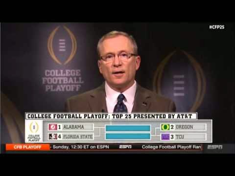 cfb playoff rankings