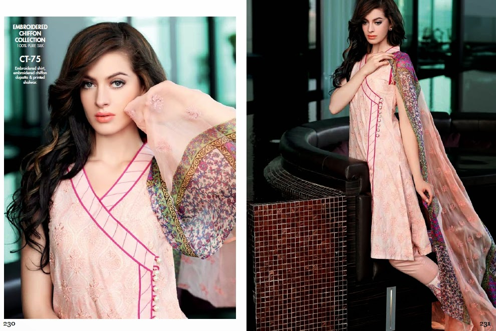 Gul Ahmed Angrakha Frocks