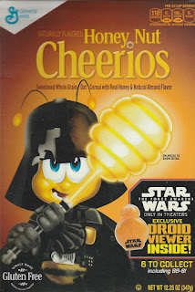 Front of Honey Nut Cheerios Star Wars The Force Awakens 2015 box